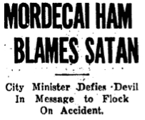 Headline from The Oklahoman (9/5/27)