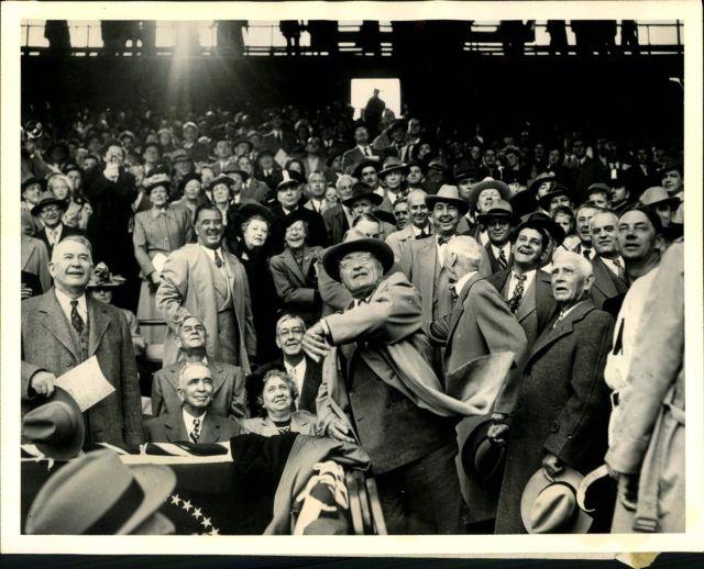 Truman first pitch